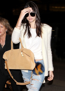 Mandatory Credit: Photo by Broadimage/REX/Shutterstock (4898656f) Kendall Jenner Kendall Jenner at LAX International Airport, Los Angeles, America - 07 Jul 2015 Kendall Jenner arrives at the Los Angeles International Airport